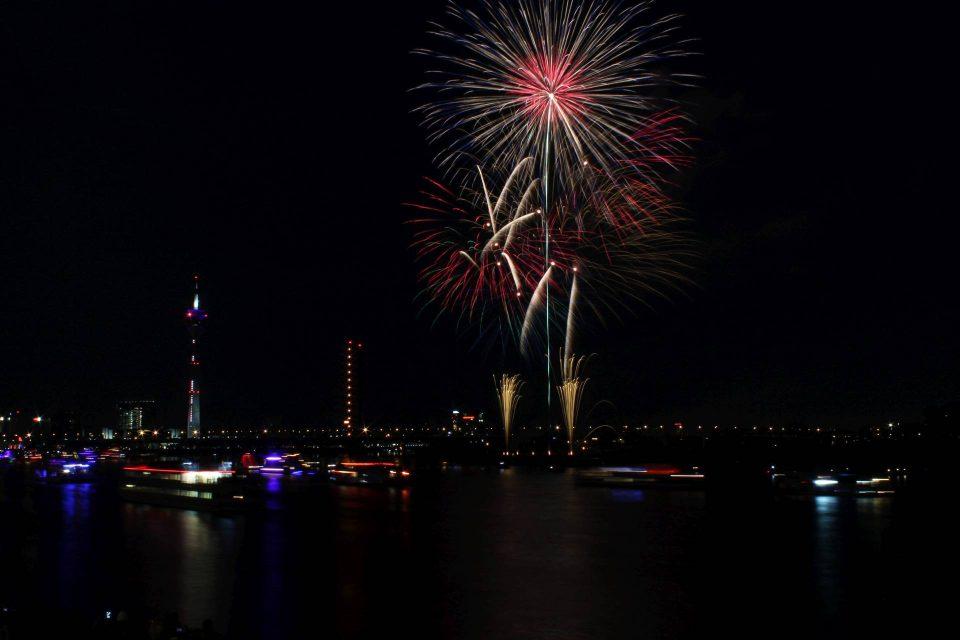 Feuerwerk Japantage 2015